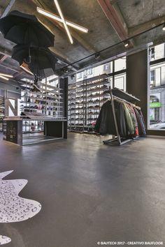 9821826998041 Mikrocement Creativo Baufloor - funkcjonalna i ponadczasowa betonowa  posadzka w warszawskim sklepie Street Supply.