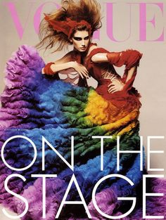 on the stage.....Alexander Mcqueen  2010