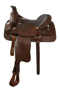 Dark Horse Tack is proud to offer... Roping Style Saddle with FULL Quarter Horse…