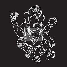 potisk ganesha - Hledat Googlem Ganesha, Home Decor, Decoration Home, Room Decor, Ganesh, Home Interior Design, Home Decoration, Interior Design