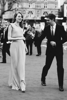 Emma Stone & Andrew Garfield. How amazing are these two ahhhh see what I did there xD