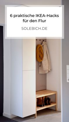 6 praktische IKEA-Hacks für den Flur! Foto: irina_kapunkt #solebich #flur #ikea #ikeahack