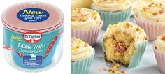 Cool new product from Dr. Oetker: Edible cupcake wrappers!