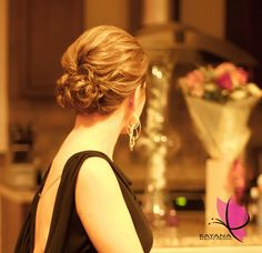 Special Event Bridal Style Updo - Hairstyling by Kayana Beauty Trends www.kayanabeautytrends.com