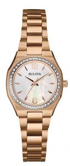 79ccd6ceb20d Bulova Women s Diamond Bracelet Watch - 0.23 ctw Best Diamond