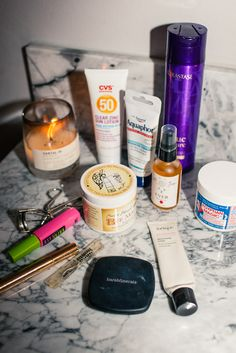 Athena Currey's going out beauty products #ITGAfterDark