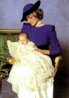 December Prince Harry's christening. Princess Diana, Princess of Wales and her son, Prince Harry Source: x Royal Princess, Prince And Princess, Prince Harry And Meghan, Princess Of Wales, Princess Victoria, Queen Victoria, Lady Diana Spencer, Diana Son, Princess Diana Photos