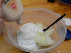 Most Amazing DIY Lotion, I've made for years, love it. I used about equal portions.