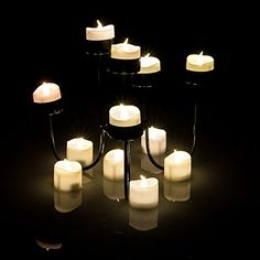 LED Candles AGPTEK 6PCSSet Flameless Flickering Candles Battery Operated For Wedding Party Home Decoration  Warm White * Read more reviews of the product by visiting the link on the image.