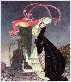 """Kay Rasmus Nielsen (March 12, 1886 – June 21, 1957) was a Danish illustrator who was popular in the early 20th century, the """"golden age of illustration"""""""