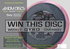 Axiom Discs 1616 Neutron Defy Disc Golf Driver Giveaway {WW}... IFTTT reddit giveaways freebies contests