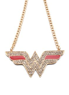 Wonder Woman necklace, I'm in love with it!