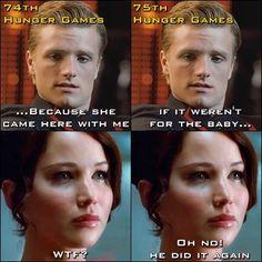 Peeta, Peeta, Peeta... hahahaha  I laughed so hard. freaking peeta