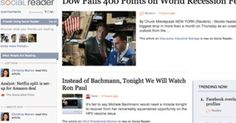 The Washington Post Company has released Social Reader, a newspaper for Facebook. The Social Reader application, built on Facebook's new Open Graph, offers users a personalized ...