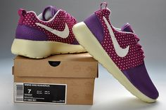 Nike Roshe Run Womens Laser Purple Medium Violet Red 511882 501