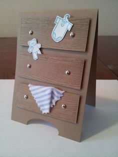 Handmade Baby Shower Invitation by CerseisCardBoutique on Etsy, $3.50
