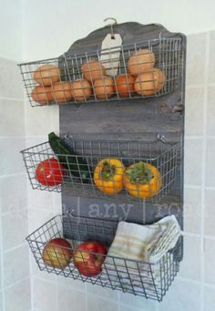 Antique Farmhouse Kitchen Bins, our exclusive design. Available for custom order! © Down Any Road