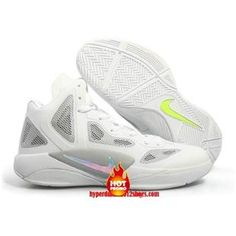 new product 587e5 00707 Cheap Nike Zoom Hyperfuse 2011 White Metallic Luster Wolf Grey Volt Team  Red 454136 100