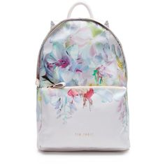 Ted Baker Freia Hanging Garden Nylon Backpack ( 179) ❤ liked on Polyvore  featuring bags b2d1c4c4927c9