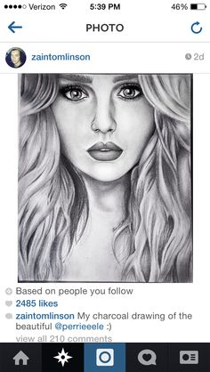Find images and videos about drawing, little mix and perrie edwards on We Heart It - the app to get lost in what you love. Amazing Drawings, Art Drawings Sketches Simple, Realistic Drawings, Pencil Portrait Drawing, Pencil Art Drawings, Drawing Portraits, Drawing Faces, Sketches Of People, Drawing People