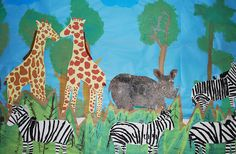 Tons of Africa-themed art projects