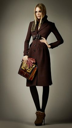 Virgin Wool Tailored Top Coat | Burberry