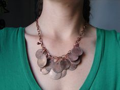 a cute idea for what to do with all the souvenir flattened pennies we have from different places!!!