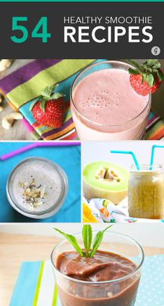 54 Healthy Smoothies for Any Occasion #healthy #smoothie #recipes