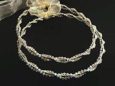 GALINI by RaniaCreations on Etsy Greek Wedding, Wedding Day, Brown Box Braids, Greek Crown, Wedding Crowns, Wedding Favor Boxes, Bridal Crown, Unique Jewelry, Silver