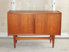 Sideboard KommodeTeak (?) danish design 50er/60er Jahre Mid century Teak, Credenza, Cabinet, Bathroom, Storage, Furniture, Home Decor, Scandinavian Design, Dresser