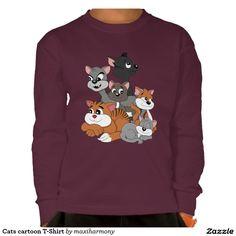 Cats cartoon T-Shirt