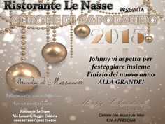 Great New Year Gala Dinner, only @ Le Nasse U'Bais