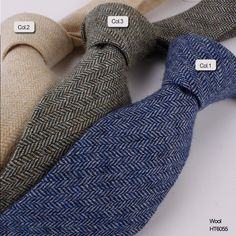 pure color Wheat stripe wool neck ties  HT6055 Wool Tie, Neck Ties, Handsome, Men Casual, Pure Products, Collection, Color, Fashion, Suit Fashion