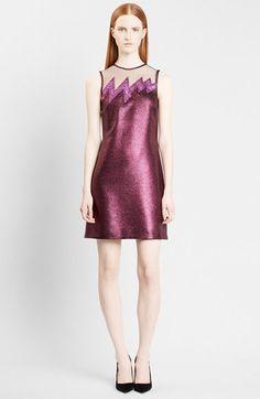 Christopher Kane Zigzag Sleeveless Sheath Dress