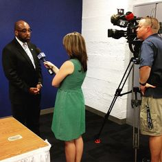 Dr. Bullock (@QBpresCCAC) speaks with @cbspittsburgh before announcing the new articulation agreements with @pennstate.