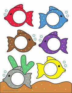 Color Match Activities For Toddlers Fish Matching Owl Free Printables Worksheets Kids Clothespin