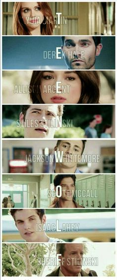Teen wolf original cast. Can't wait until June though.