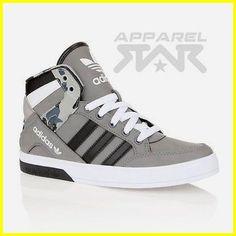 Chaussures de sport adidas Hightop formées par Hard Court