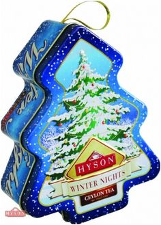 Hyson Schwarzer Tee Winter Baum