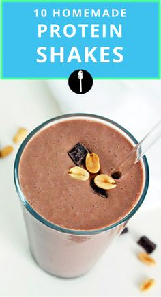 Easy protein shake recipes you should try after your next work out.