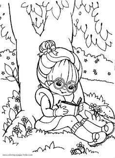 Rainbow brite Coloring Pages Online | Colorir e Pintar