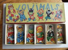 Hey, I found this really awesome Etsy listing at https://www.etsy.com/listing/242426203/vintage-wooden-animal-puzzles-jollimals