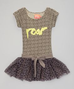 Another great find on #zulily! Panther 'Roar' Dress - Infant, Toddler & Girls by Flo #zulilyfinds