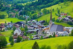 The village of Maria Alm, Austria - my spring break destination for 2 years
