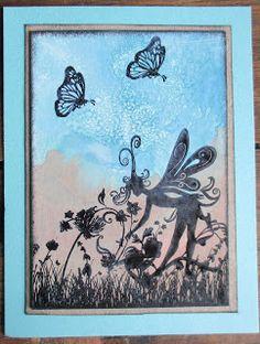 De Stempelwinkel - Designteam      : Fairy kaartjes