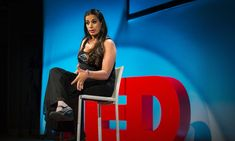 This is one bright, beautiful, talented lady! You owe it to yourself to watch her TED talk. Do it now!