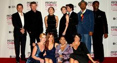 Grey's Anatomy cast at People's Choice Awards.