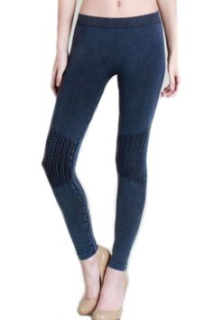 0eaf4329d0fc76 Nikibiki Vintage Wash Leggings in Denim ** This is an Amazon Affiliate  link. Want
