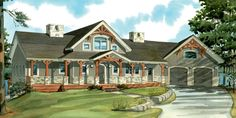 3538 One of over 40 cottage designs and plans