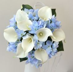 Blue Hydrangea Bouquet - Yahoo Image Search Results